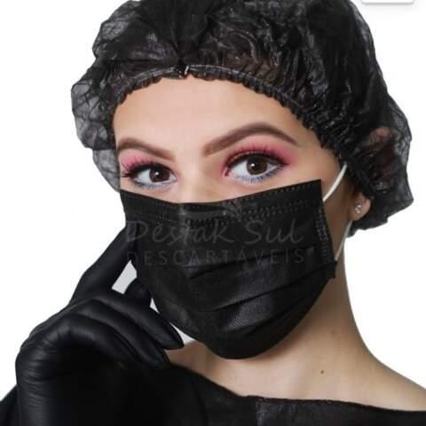 Pacote Máscaras Descartáveis - 25 Unid
