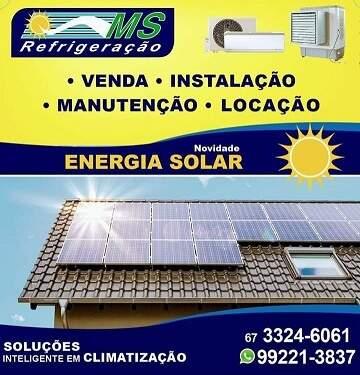 climatização & energia solar