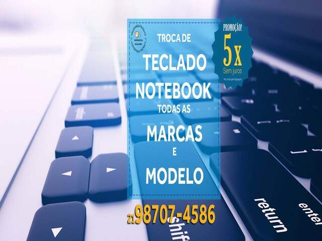 Conserto de notebooks