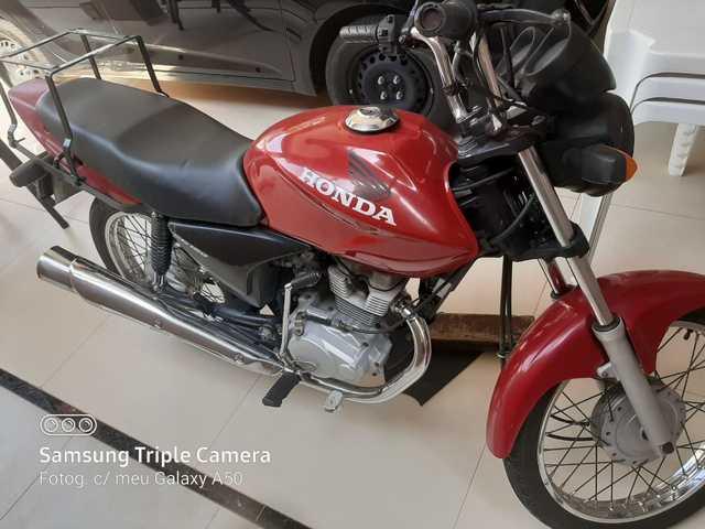 Honda CG150 ideal para empresas entregas