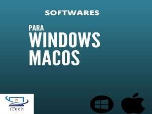 Softwares para Windows ou macOS