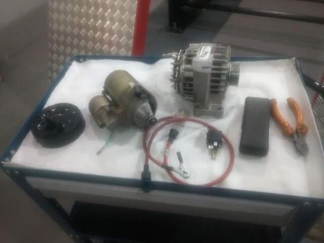 Curso de Eletricista, Alternador, Motor de Partida Automotivo