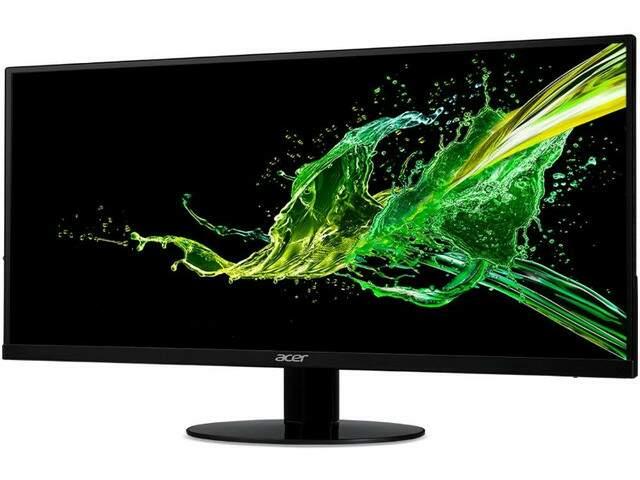 Monitor NOVO Acer 23' Full HD Lcd IPS 75Hz