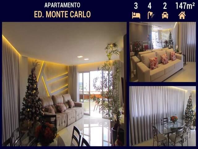 Apartamento Alto Padrão no Ed. Monte Carlo em Campo Grande - MS
