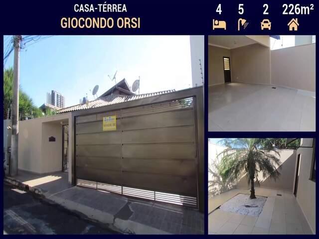 OPORTUNIDADE! Casa Alto Padrão no Giocondo Orsi em Campo Grande - MS