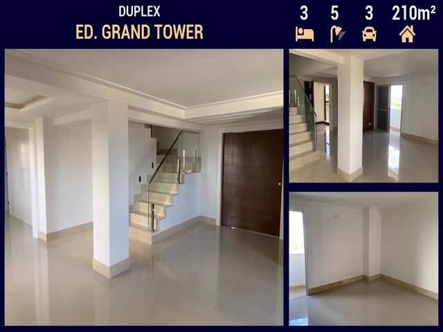 Apartamento Alto Padrão no Ed. Grand Tower ao lado do Shopping Campo Grande