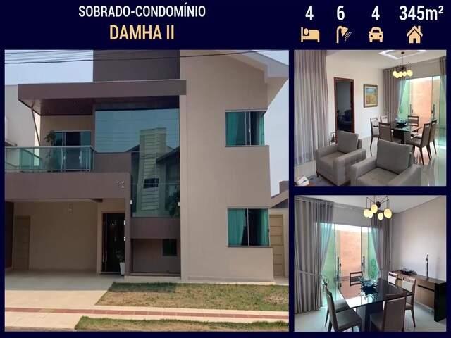 Sobrado-condomínio Alto Padrão no Damha II em Campo Grande - MS