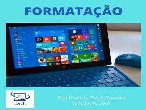 Formatação Notebooks e PCs