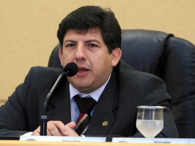 Vereador Lídio Lopes pode assumir vaga do deputado Paulo Duarte, que concorre à Prefeitura de Corumbá. (Foto: Divulgação)