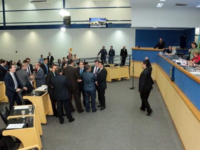 Plenário na Câmara Municipal. (Foto: Izaías Medeiros/Câmara Municipal).