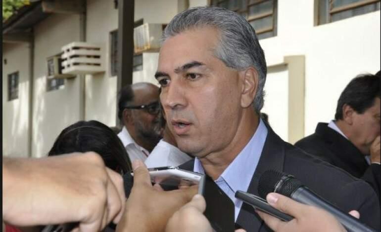 O governador Reinaldo Azambuja prometeu enviar projeto da reforma da previdência para a AL na próxima semana (Foto: Divulgação)