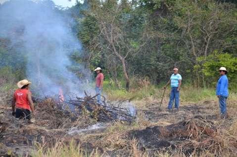 Operação para retirar índios de fazenda tem Policia Federal, PM e bombeiros