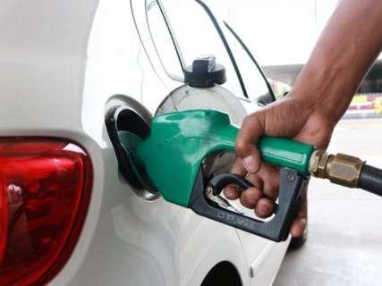 Valor médio do litro da gasolina em MS tem redução de 2,2% em um mês