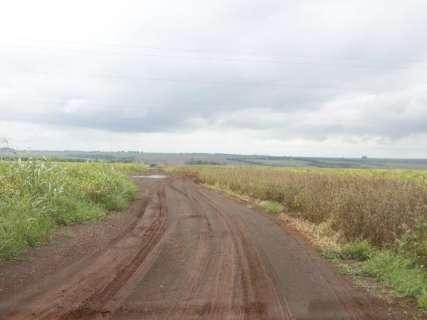 Chuva acima da média paralisa colheita da soja na região de Dourados