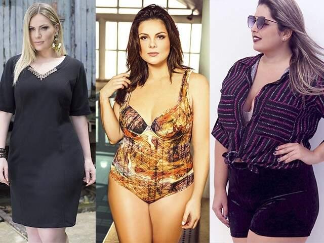 Há opções mais formais, despojadas e moda praia, todas valorizando o corpo feminino e com corte moderno