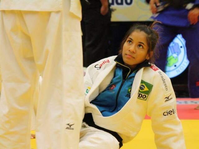 Larissa Farias foi derrotada em Costa Rica e disputará medalha de bronze (Foto: Arquivo pessoal)
