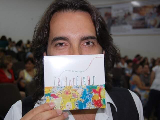 CD tem dez faixas com poesias de Manoel de Barros(Foto:Wendell Reis)