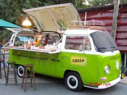 Qual a diferença dos food trucks para os trailers que existem há anos por aqui?