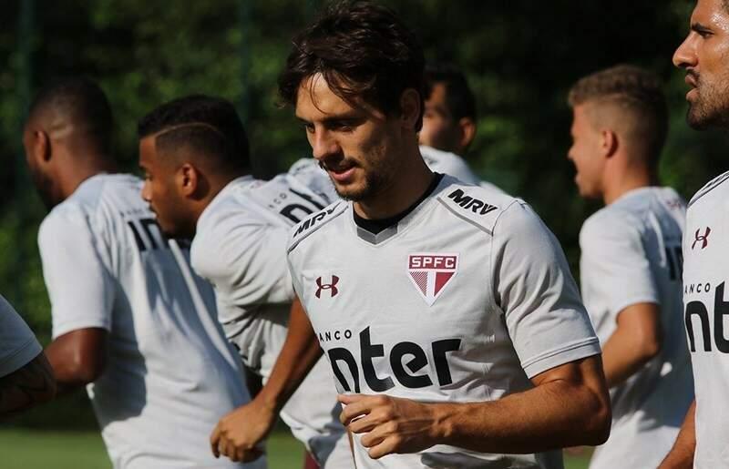 Zagueiro Rodrigo Caio foi relacionado para a partida de logo mais (Foto: Rubens Chiri/saopaulofc.net)