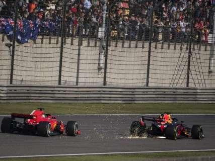 Ricciardo vence o GP da China e liderança de Vettel cai 17 pontos