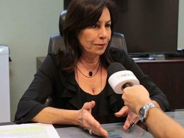 Desembargadora em entrevista ao Campo Grande News. (Foto: Arquivo)