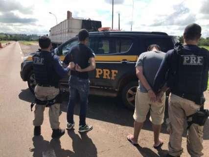 Sul-mato-grossense é preso com 80 mil pacotes de cigarro no Paraná