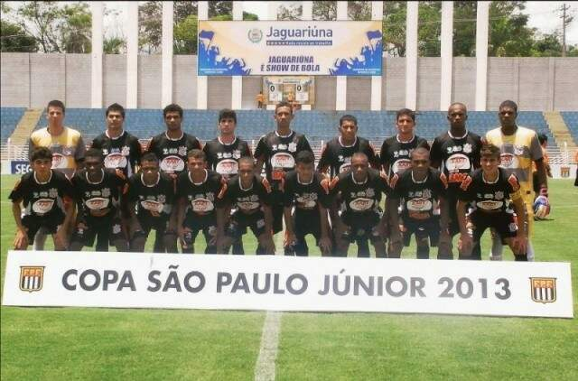 Da época em que Huliell jogou no Corinthians. (Foto: Arquivo Pessoal)