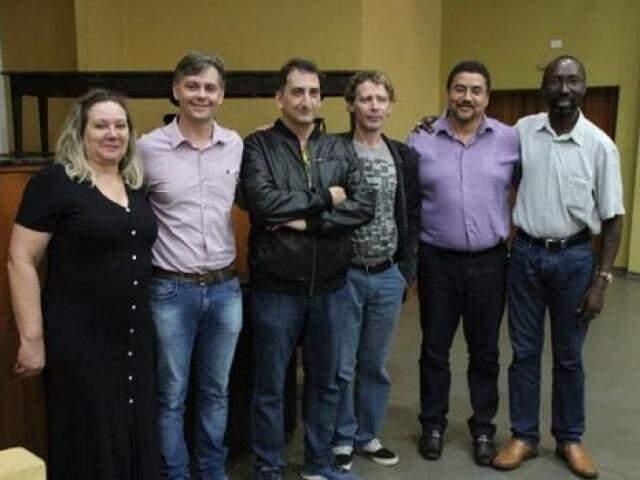Candidatos a reitor e vice-reitor incluídos na lista tríplice devolvida pelo MEC (Foto: Divulgação)
