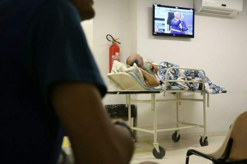 Hospital Regional recebe pacientes da Capital e do interior (Foto: Marcelo Victor/Arquivo)
