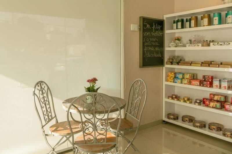 Nosso agradável espaço espera pela sua visita - Foto Elis Regina