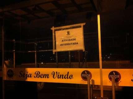 Polícia Civil e Prefeitura interditam bar na avenida Afonso Pena