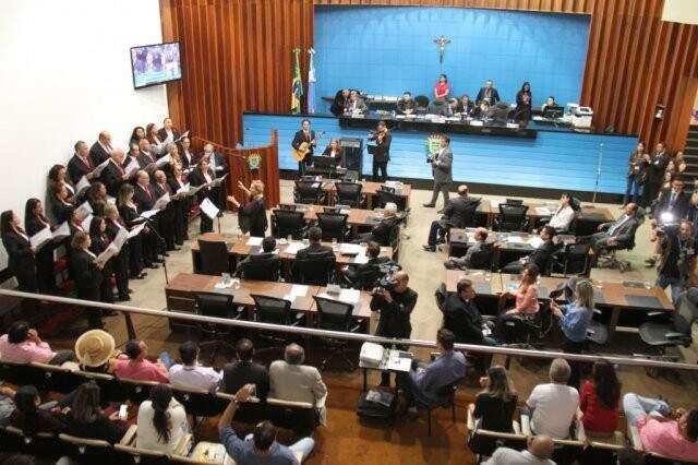 Assembleia Legislativa de Mato Grosso do Sul (Divulgação/Assembleia)