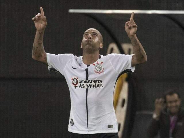 Sheik se tornou o jogador mais velho a fazer gol com a camisa do Corinthians. (Foto:  Daniel Augusto Jr. / Ag. Corinthians)