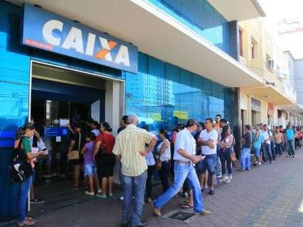Agências da Caixa abrem às 9h para atender demanda de saque do FGTS