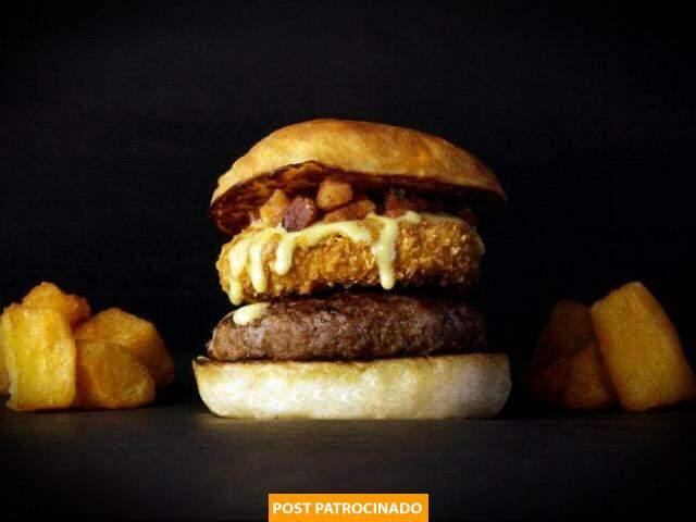 Sanduíche Burger Pantaneiro tem inspiração indígena.