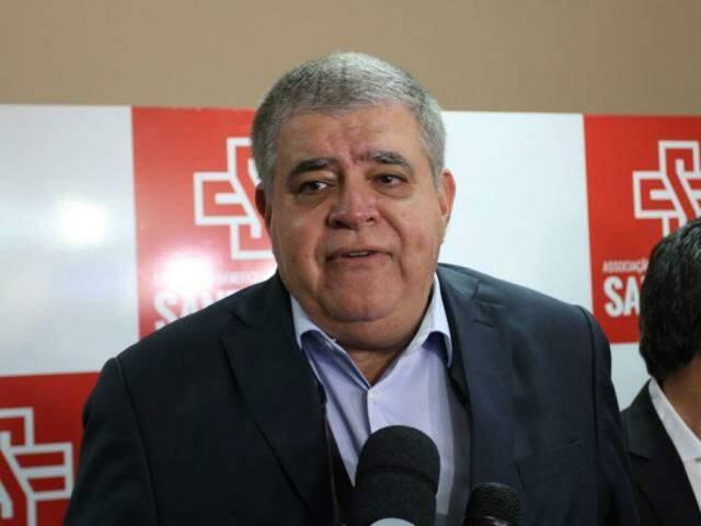 Ministro da Secretaria de Governo, Carlos Marun, esteve em Campo Grande no último domingo (25). (Foto: Saul Schramm)
