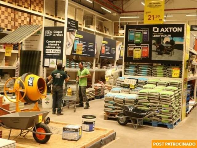 Aproveite as ofertas em todos os departamentos da loja que fica na saída para Cuiabá. (Foto: Marcos Maluf)
