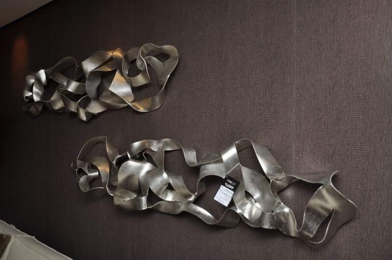 Esculturas no Living de Encontro. (Foto: Marcelo Callazans)