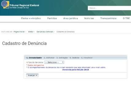 Começa a funcionar disque-denúncia do TRE para crimes eleitorais