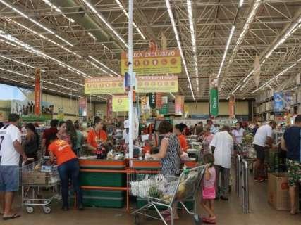 Campo Grande é a única capital onde a cesta básica ficou mais barata