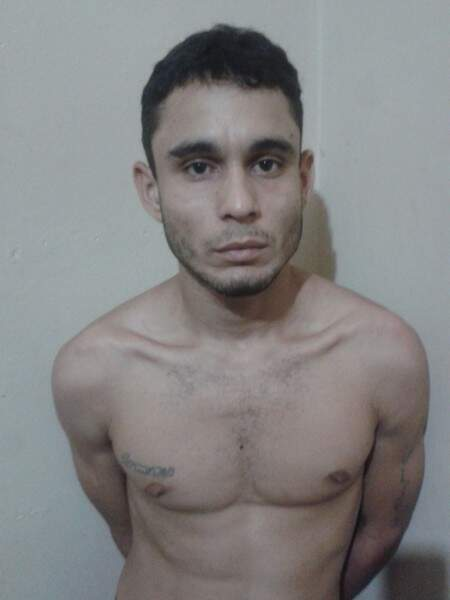 Endril Diego Torquetti foi preso na manhã de hoje (17) após furtar dois comércios no centro da Capital. (Foto: Divulgação/Guarda Municipal)