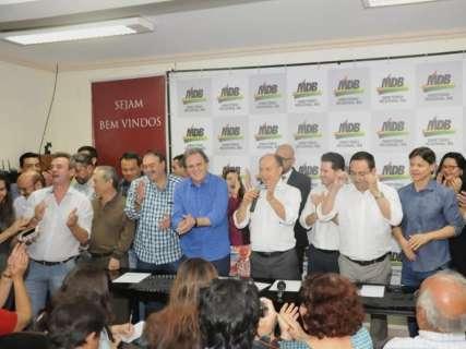 Último a definir candidatura, MDB vai começar campanha depois de rivais