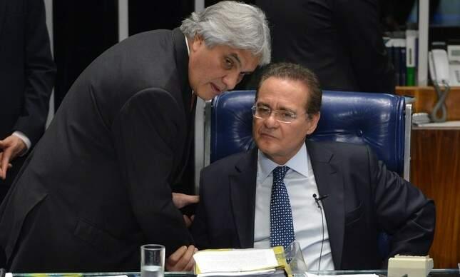 Ex-diretor da Petrobras diz que pagou propina para Delcídio e Renan Calheiros (Foto: Fabio Rodrigues Pozzebom | Agência Brasil)