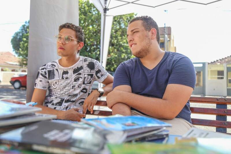 Hugo e Gustavo se inspiraram em um conceito americano de comércio.(Foto: Fernando Antunes)