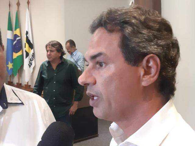 Marquinhos contesta redução do ICMS da Capital diante do peso econômico da cidade e despesas como na saúde. (Foto: Humberto Marques)