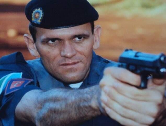 Subtenente Silvio Cesar Molina em foto publicada no Facebook (Foto: Arquivo pessoal)