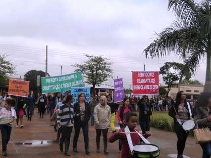 Sem reajuste, professores iniciam greve por tempo indeterminado dia 21