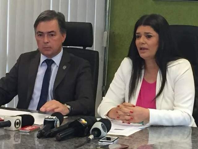Balanço foi divulgado pelo secretário e governadora em exercício. (Foto: Bruna Kaspary)