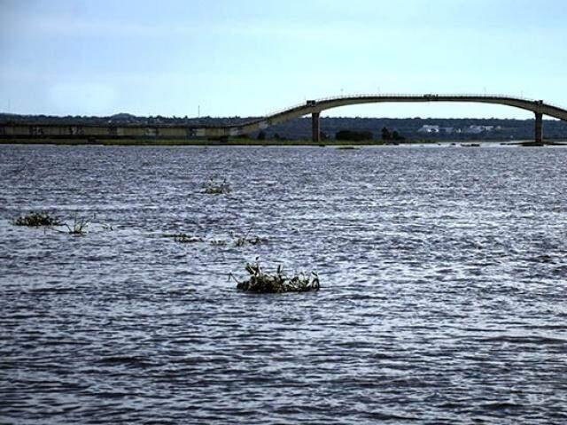 Rio Paraguai em Corumbá (Foto: Anderson Gallo / Diário Corumbaense)