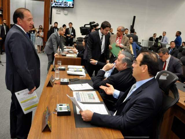 Após 17 de dezembro, data da última sessão, deputados só voltam em fevereiro (Foto: Luciana Nassar/ALMS)